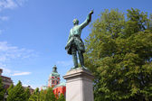 Stockholm sculpture — Stock Photo