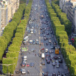 Paris traffic — Stock Photo