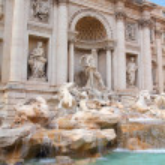Rome - Trevi Fountain — Stock Photo