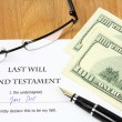 Stock Photo: Last Will