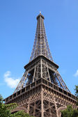 巴黎埃菲尔铁塔 — 图库照片