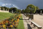 Paris park — Stok fotoğraf