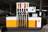 Shell gas station — Stock Photo