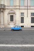 Fiat 500 in Rome — Stock Photo