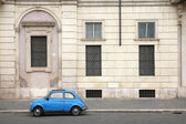 Rome oldtimer car — Stock Photo