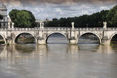 Ponte Sant'Angelo, Rome — Stock Photo