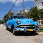 Mietwagen in Kuba — Stockfoto