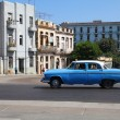 Oldtimer car in Cuba — Stock Photo