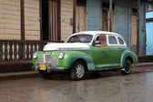 Cuba oldtimer car — Stock Photo