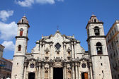 Havana cathedral — Stock Photo