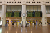 Airport interior - Malaga — Stock Photo