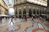 Milan shopping gallery — Stock Photo