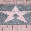 Sylvester Stallone star — Stock Photo #30112365