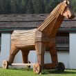 Stock Photo: Trojhorse