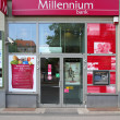 Millennium Bank in Poland — Stock Photo