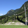 Stock Photo: Switzerland - Sunniberg Bridge