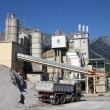 Cement production — Stock Photo