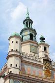 Poznan City Hall — Stock Photo