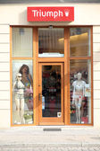 Triumph lingerie store — Stock Photo