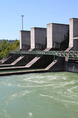 Hydroelectric power plant — Stock Photo