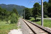 Railway in Austria — Stock Photo