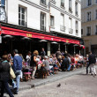 Stock Photo: Cafe in Paris