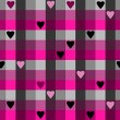 hearts pattern — Stock Vector
