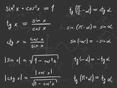 Maths lesson — Stock Vector