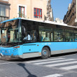 Stock Photo: Madrid bus