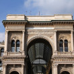 Milan shopping gallery — Stock Photo #30155845