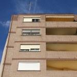 Generic apartment building — Stock Photo