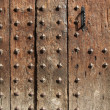 Wooden door background — Stock Photo