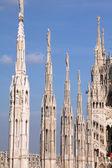 Milánská katedrála — Stock fotografie