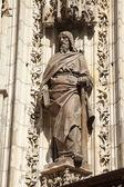 Sevilla cathedral — Stock Photo
