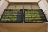 Airport departures in Spain — Stock Photo