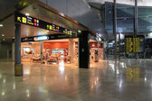 Valencia Airport interior — Foto Stock