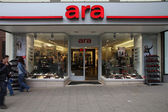 Vienna shopping - Ara shoes — Stock Photo