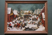 Pieter Brueghel art — Stock Photo