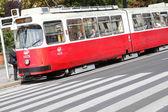 Vienna tram — Stock Photo