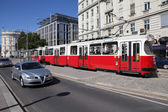 Vídeňské veřejné dopravy — Stock fotografie