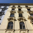 Stock Photo: Old apartment building