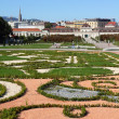 Belvedere gardens in Vienna, Austria — Stock Photo