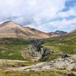 冰岛火山爆发 — 图库照片