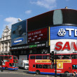 London - Piccadilly Circus — Stock Photo