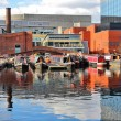 Birmingham waterway — Stock Photo