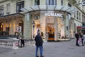 Sklep obuwniczy humanic — Zdjęcie stockowe