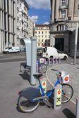 City-Bikes in Wien — Stockfoto