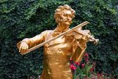 Vienna - Johann Strauss — Stock Photo