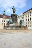 Hofburg Palace courtyard — Stock Photo