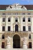 Hofburg Palace courtyard. — Stock Photo
